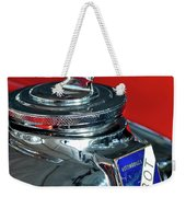 1948 Talbot-lago T26 Record Cabriolet Hood Ornament Weekender Tote Bag