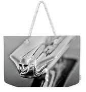 1949 Cadillac Hood Ornament 4 Weekender Tote Bag