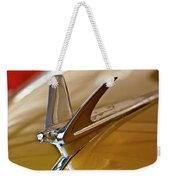 1949 Chevrolet Fleetline Hood Ornament Weekender Tote Bag