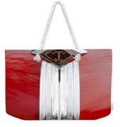 1949 Diamond T Truck Hood Ornament Weekender Tote Bag