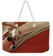 1949 Ford Custom Hood Ornament Weekender Tote Bag