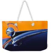1949 Ford Hood Ornament 5 Weekender Tote Bag