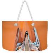 1949 Lincoln Coupe Hood Ornament Weekender Tote Bag