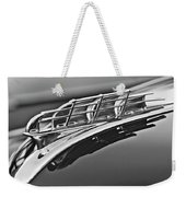 1949 Plymouth Hood Ornament 2 Weekender Tote Bag by Jill Reger