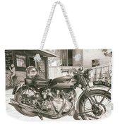1949 Vincent Rapide Hrd Weekender Tote Bag