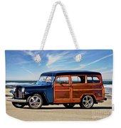 1949 Willys Woody Wagon I Weekender Tote Bag
