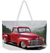 1950 Chevrolet 3100 Pickup 'show Low' II Weekender Tote Bag