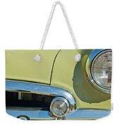1950 Chevrolet Fleetline Grille Weekender Tote Bag