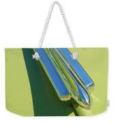 1950 Chevrolet Fleetline Hood Ornament Weekender Tote Bag
