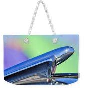 1950 Chevrolet Hood Ornament 3 Weekender Tote Bag