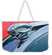 1950 Dodge Coronet Hood Ornament Weekender Tote Bag by Jill Reger