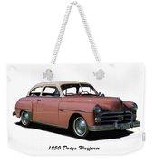 1950 Dodge Wayfarer 2 Door Sedan Weekender Tote Bag