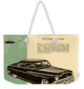 1950 Lincoln 6 Passenger Coupe Weekender Tote Bag