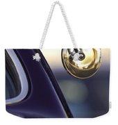 1950 Mercury Custom Lead Sled Side Mirror Weekender Tote Bag