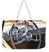 1950 Olds - Oldsmobile 88 Dashboard Weekender Tote Bag