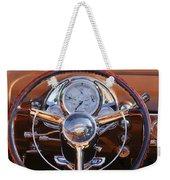 1950 Oldsmobile Rocket 88 Steering Wheel 2 Weekender Tote Bag by Jill Reger