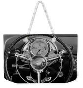 1950 Oldsmobile Rocket 88 Steering Wheel 4 Weekender Tote Bag