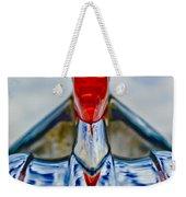1950 Pontiac Hood Ornament 3 Weekender Tote Bag