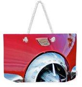 1950 Studebaker Champion Hood Ornament Weekender Tote Bag