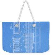 1950 Surfboard Patent Weekender Tote Bag