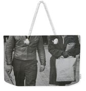 1950s Fashion Weekender Tote Bag