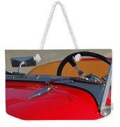 1951 Allard K2 Roadster Steering Wheel Weekender Tote Bag