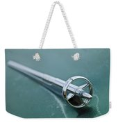 1951 Buick Hood Ornament Weekender Tote Bag