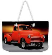 1951 Chevrolet 'gasser Style' Pickup I Weekender Tote Bag