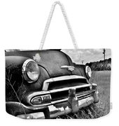 1951 Chevrolet Power Glide Black And White 3 Weekender Tote Bag
