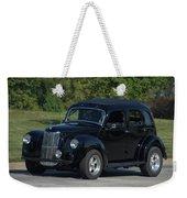 1951 English Ford Prefect Street Rod Sedan Weekender Tote Bag