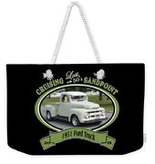 1951 Ford Truck Shields Weekender Tote Bag