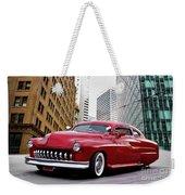 1951 Mercury 'candy Custom' Sled L Weekender Tote Bag