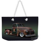 1951 Rusty Chevrolet Pickup Truck Weekender Tote Bag