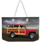 1951 Willy's Jeepster Weekender Tote Bag