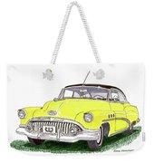 1952 Buick Special Weekender Tote Bag
