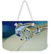 1952 Dodge Coronet  Diplomat Club Coupe Hood Ornament Weekender Tote Bag