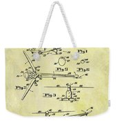 1952 Helicopter Patent Weekender Tote Bag