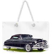 1952 Hudson Hornet Convertible Weekender Tote Bag