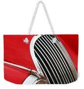 1952 Jaguar Xk 120 Grille Emblem Weekender Tote Bag