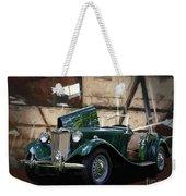1952 Mg Td Roadster Sports Car Weekender Tote Bag