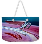 1952 Packard 400 Hood Ornament Weekender Tote Bag