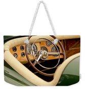1952 Sterling Gladwin Maverick Sportster Steering Wheel Weekender Tote Bag