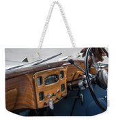 1952 Triumph Renown Limosine Instrument Panel Weekender Tote Bag