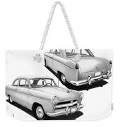 1952 Willys  Weekender Tote Bag