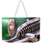 1953 Buick Chrome Weekender Tote Bag