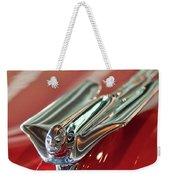 1953 Cadillac Eldorado Convertible Hood Ornament Weekender Tote Bag