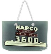 1953 Chevrolet 3600 4 X 4 Emblem Weekender Tote Bag