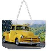 1953 Chevrolet Stepside Pickup I Weekender Tote Bag