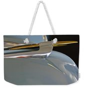 1953 Lincoln Capri Hood Ornament 2 Weekender Tote Bag