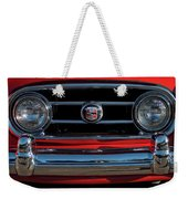 1953 Nash Healey Roadster Grille Weekender Tote Bag